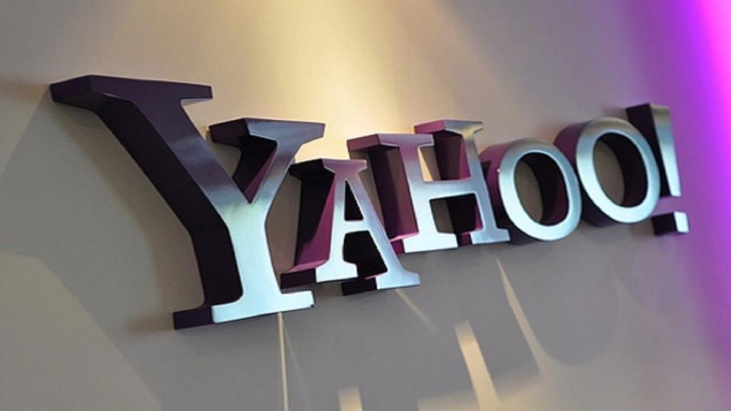 первый вариант Yahoo